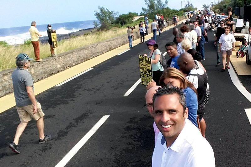 Chaîne humaine de 4500 personnes à Bois Blanc